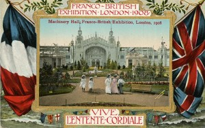 Entente Cordiale Postcard