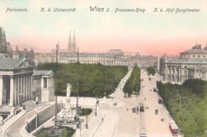 Postkarte_Wiener_Ringstraße